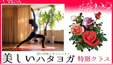 美しいハタヨガ 特別クラス アナオユキコ 京都ヨガ・IYC京都